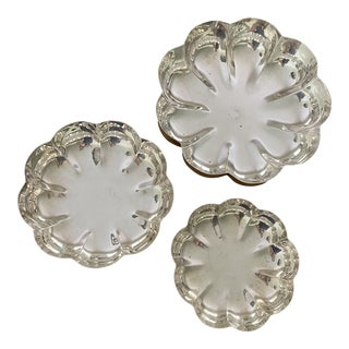 Vintage Gorham Silver Plate Nesting Dishes - Set of 3 For Sale