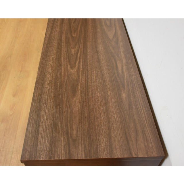 Mid-Century Walnut and Formica Credenza - Image 8 of 11