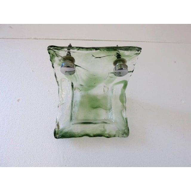 Mazzega Murano Italian Murano Glass Bathroom Set by Mazzega For Sale - Image 4 of 13