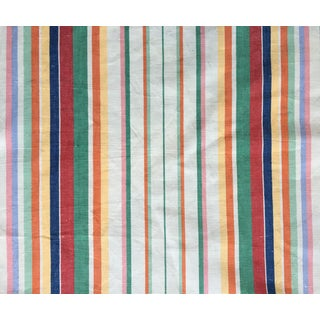 "Moving Sale - Make an Offer - Everything Must Go - Ralph Lauren ""Didier Stripe"" Cotton Linen Fabric"