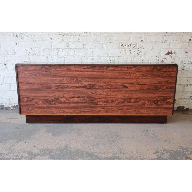 Westnofa Scandinavian Modern Rosewood Long Dresser For Sale - Image 10 of 11