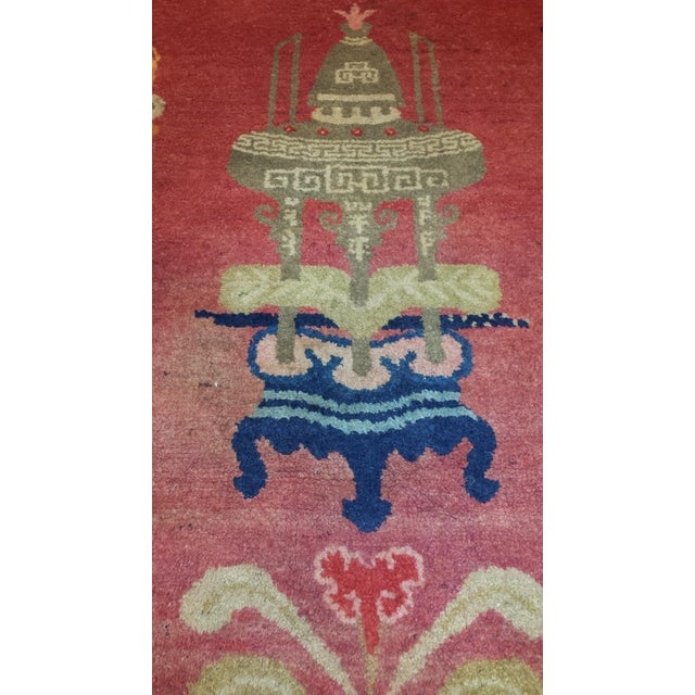 Antique Chinese Patao Rug For Sale - Image 4 of 4