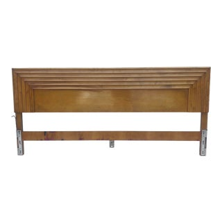 Mid-Century King Size Headboard by Edmond Spence For Sale