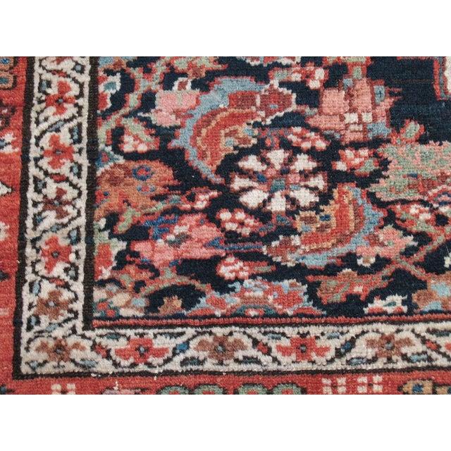 Red Antique Karadja Rug For Sale - Image 8 of 9