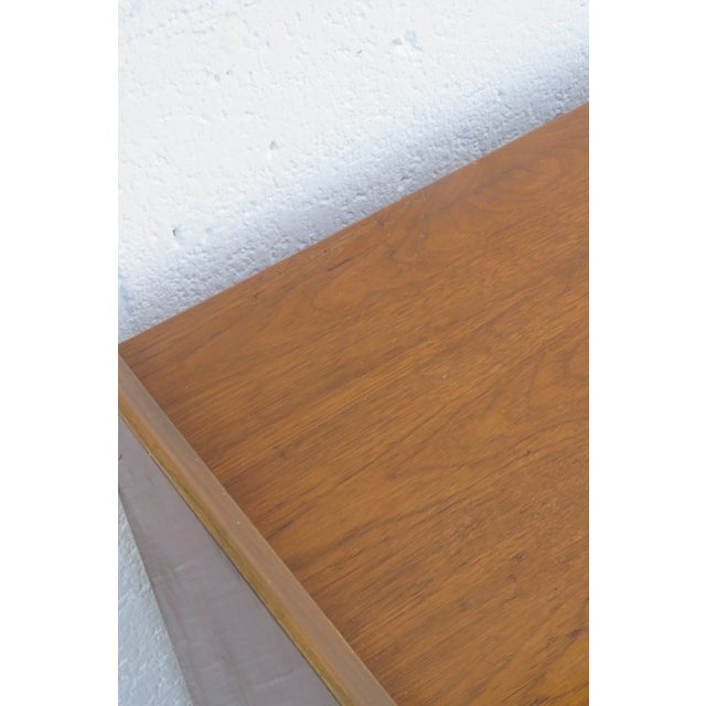Wood Mid Century Modern Long Dresser Sideboard Tv Media Console 2714 For Sale - Image 7 of 11