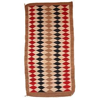 """Antique American-Indian Navajo Rug - 3'6"""" x 5'10"""""""