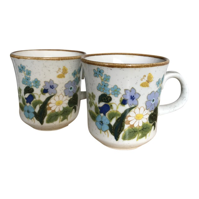Vintage Mikasa Cups - A Pair - Image 1 of 6