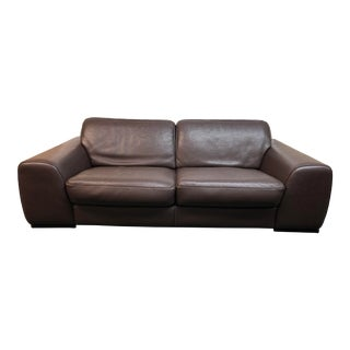 Roche Bobois Leather Sofa For Sale