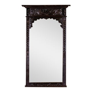 Brittany Mirror From the 1930s in an Oak Frame For Sale
