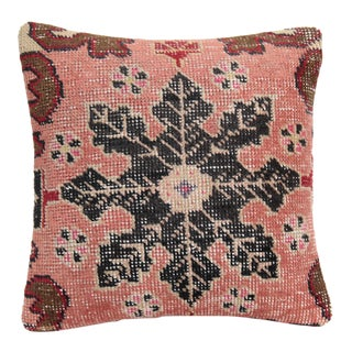 Wool Rug Pillow Cover For Sale
