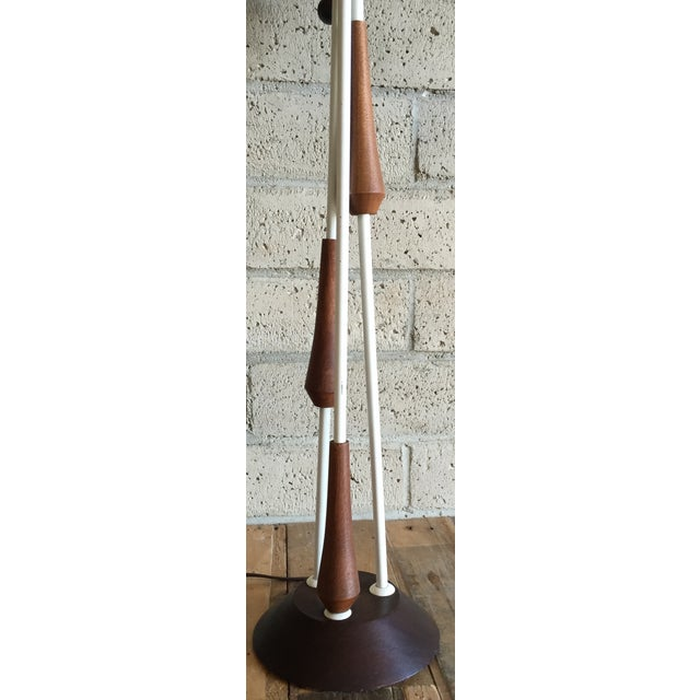 Vintage Mid Century Danish Teak Lamp - Image 7 of 10