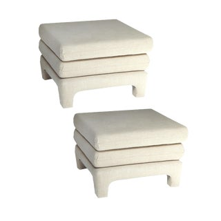 Upholstered Ottomans For Sale