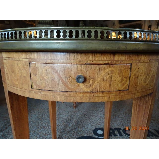 French 19th Century French Bouillotte Table For Sale - Image 3 of 13