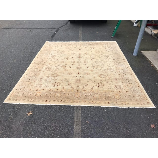 Traditional Muted Lovely Oushak Area Rug For Sale - Image 3 of 8