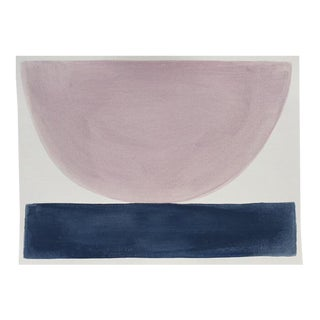 """2010s Abstract Original Painting, """"Selkie Bowl"""" by Jenny Andrews Anderson"""