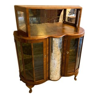 Vintage Art Deco Bar Cabinet For Sale