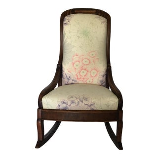 Victorian Antique Children's Rocker For Sale