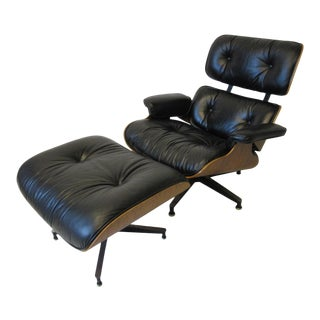 Eames 670 Lounge Chair W/ Ottoman by Herman Miller For Sale