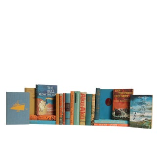 Nautical Aquatic Sunsets : Set of Twenty Decorative Books For Sale
