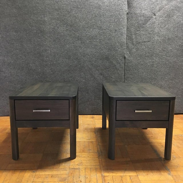 Scandinavian Designs Harald End Tables - Pair - Image 4 of 11