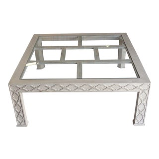 Palm Beach Regency Fretwork Coffee Table