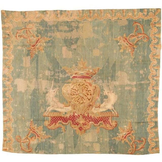 Very early antique European Kilim rug. Contact dealer.
