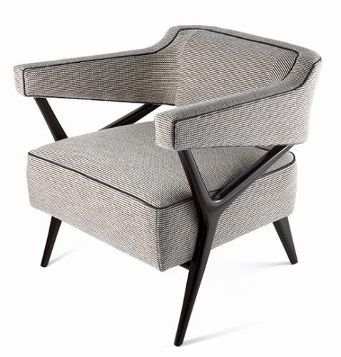 Contemporary Studio Van Den Akker Wallace Club Chair For Sale   Image 3 Of 3