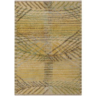 Swedish Rya Rug by Marta Maas-Fjetterström - 5′ × 7′ For Sale