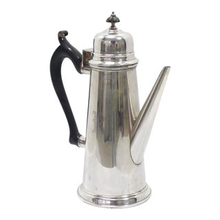 Sterling Silver Tea Coffee Pot Jacob Hurd by Frank Whiting For Sale
