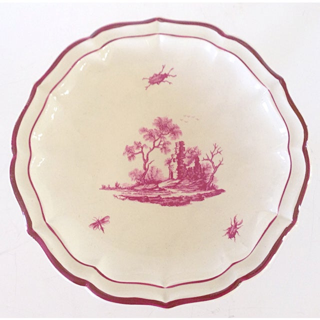 19 C. Gien Pedestal Serving Plate - Image 3 of 4