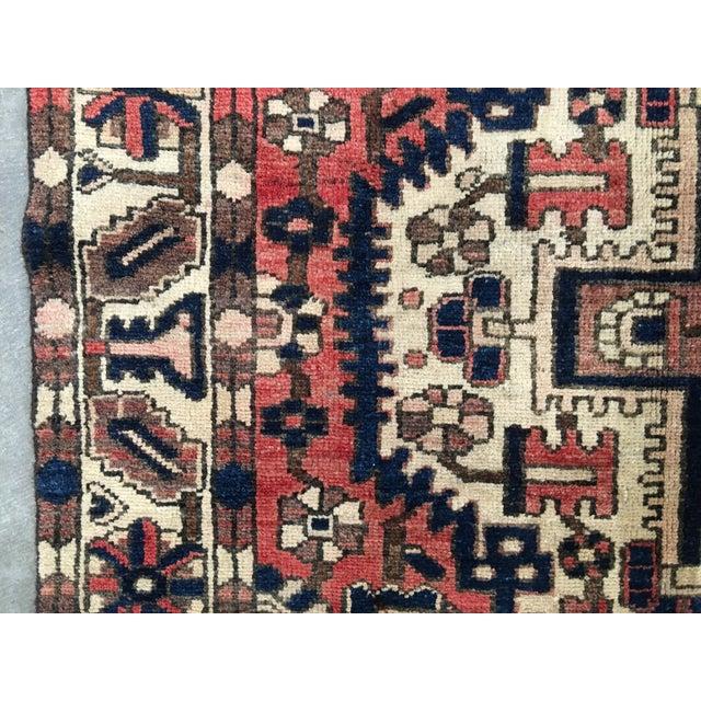 """Bactiari Persian Rug - 5'1"""" x 6'10"""" - Image 8 of 9"""