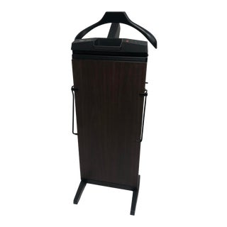 Vintage Mid Century Modern Valet Stand - Trouser Press by Corby For Sale