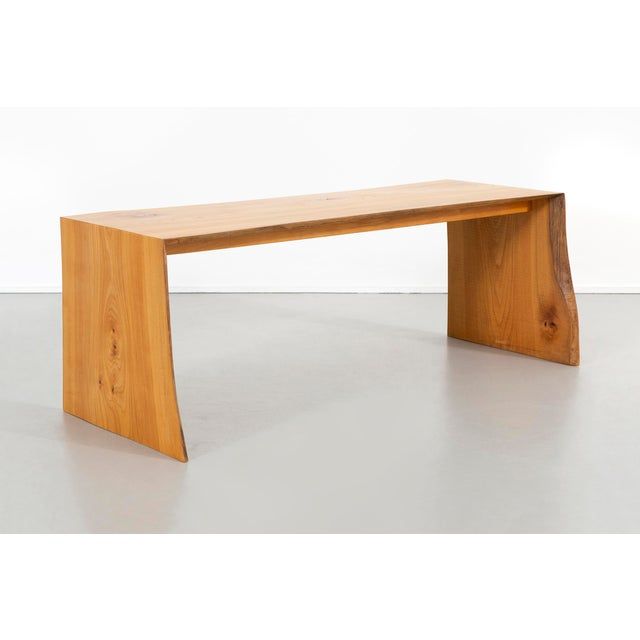 Contemporary Contemporary It Elmwood Bench For Sale - Image 3 of 12