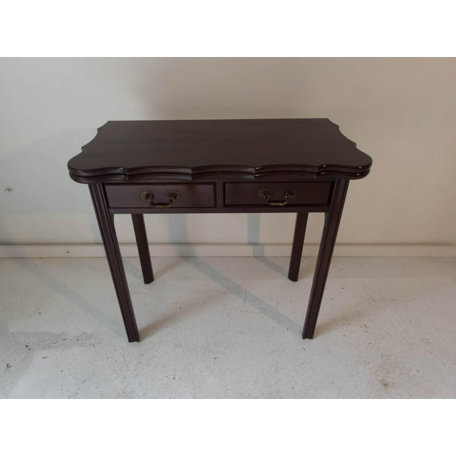 Vintage Mahogany Game Table - Image 3 of 7