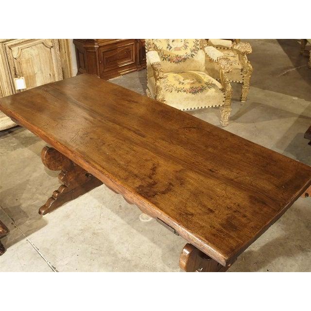 17th Century Italian Walnut Wood Table For Sale - Image 10 of 13