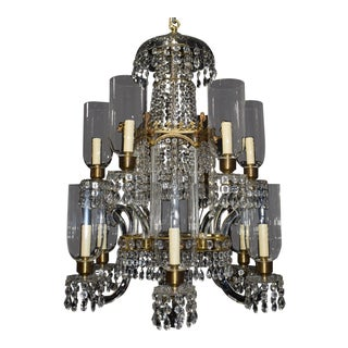 Antique lighting, chandelier