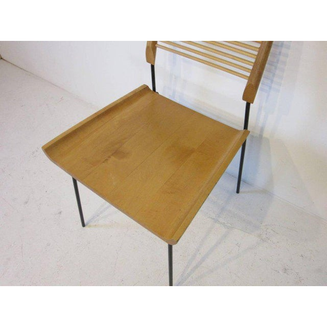 Paul McCobb Shovel Seat Dining Chairs from the Planner Group - set of 4 For Sale In Cincinnati - Image 6 of 8