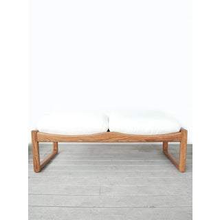 1970s Vintage Mid Century Modern Lou Hodges bench Preview