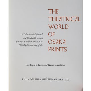 """The Theatrical World of Osaka Prints"" Woodblock Prints Preview"