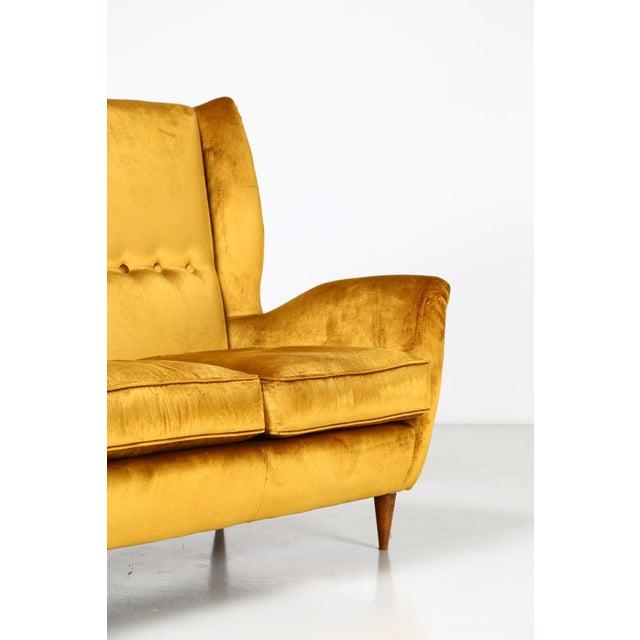 Mid-Century Modern Gio Ponti - Isa - Bergamo / I.s.a., Italy Sofa Gio Ponti for Isa Bergamo of 1950 For Sale - Image 3 of 5
