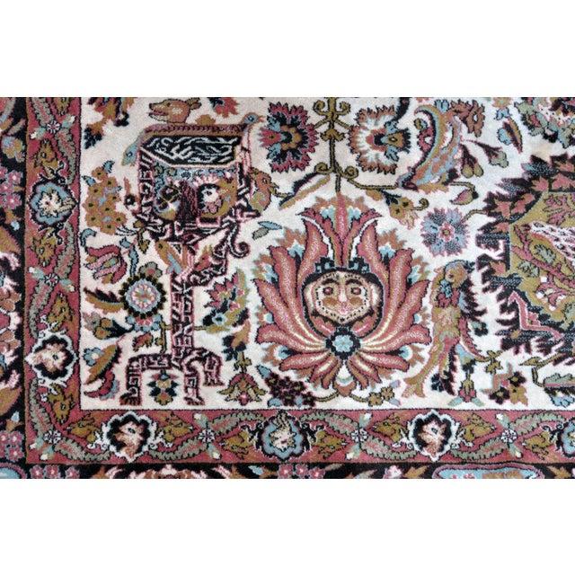 Vintage Besmer Wool Rug - 8′4″ × 11′8″ - Image 5 of 10
