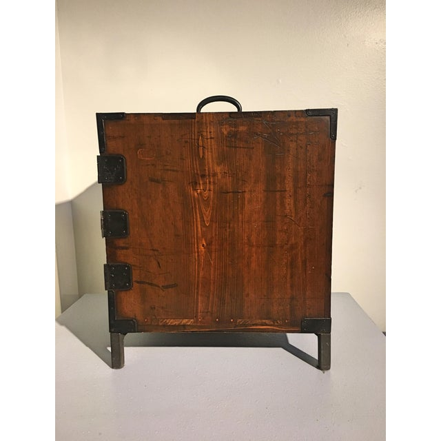 Japanese Meiji Period Ship Chest, Fune Tansu, dated 1883 For Sale In Austin - Image 6 of 11