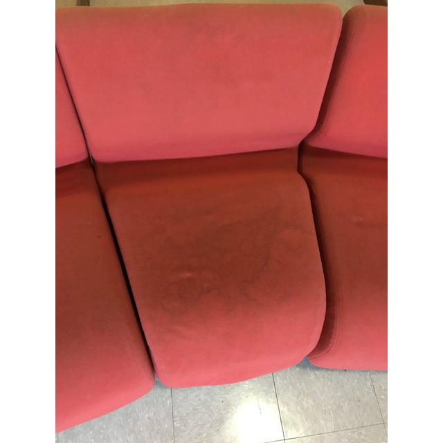 Orange Herman Miller Chadwick Modular Seating For Sale In New York - Image 6 of 11