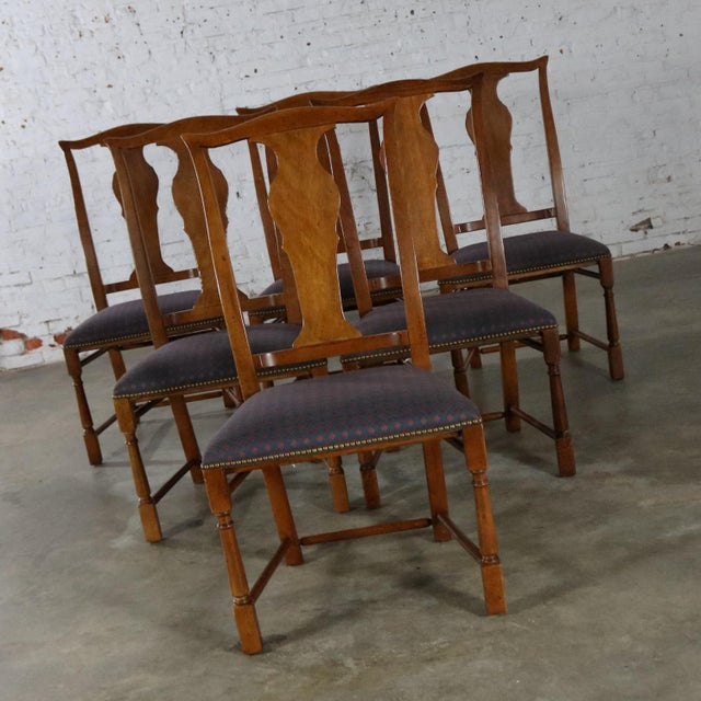 Chippendale Baker Chippendale Style Dining Chairs - Set of 6 For Sale - Image 3 of 11