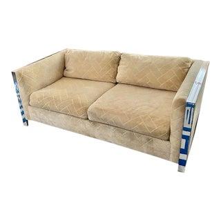 Vintage Mid-Century Milo Baughman Sofa For Sale
