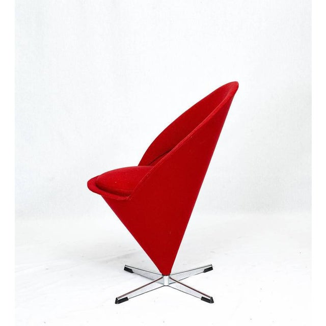 "1950s Verner Panton ""Cone"" Chair For Sale - Image 5 of 10"