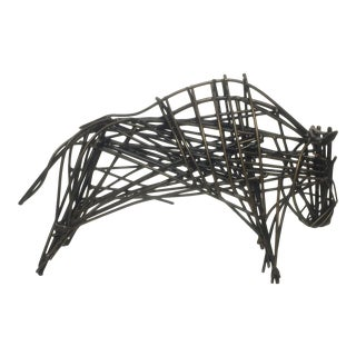Modern Abstract Bull Figurine For Sale
