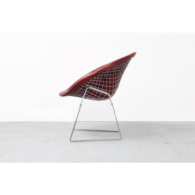 Knoll Diamond Bertoia Chair For Sale - Image 4 of 11