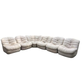 Velda-Belgium 70s 6-Piece Sectional Sofa