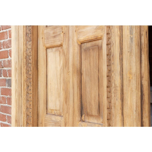 1800's Indo Portuguese Tall Slim Door For Sale In Los Angeles - Image 6 of 11